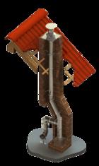 jednovrstvé sanované komíny